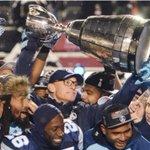 Grey Cup: Toronto rallies in snow to beat Calgary 27-24