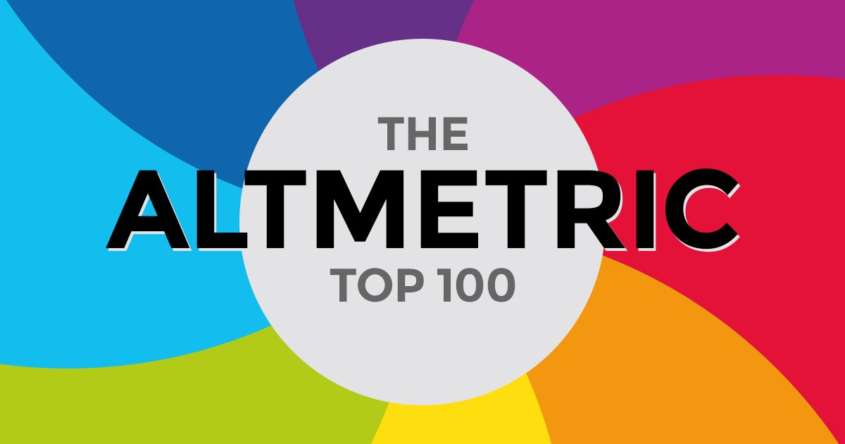 test Twitter Media - Missed The Altmetric Top 100 2017 ? Check out last year's list of the most talked about articles. https://t.co/dfK7uUNBFw #altmetrictop100 https://t.co/5f9OGSeyIS