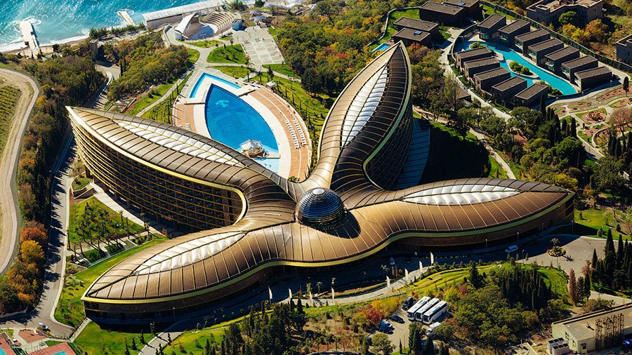 Russia's Mriya Resort & Spa in Crimea named the best holiday hotel