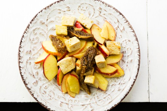 Our Apple Ginger Salad has a real zing to it. Ideal for a pre X Mas shopping perk!