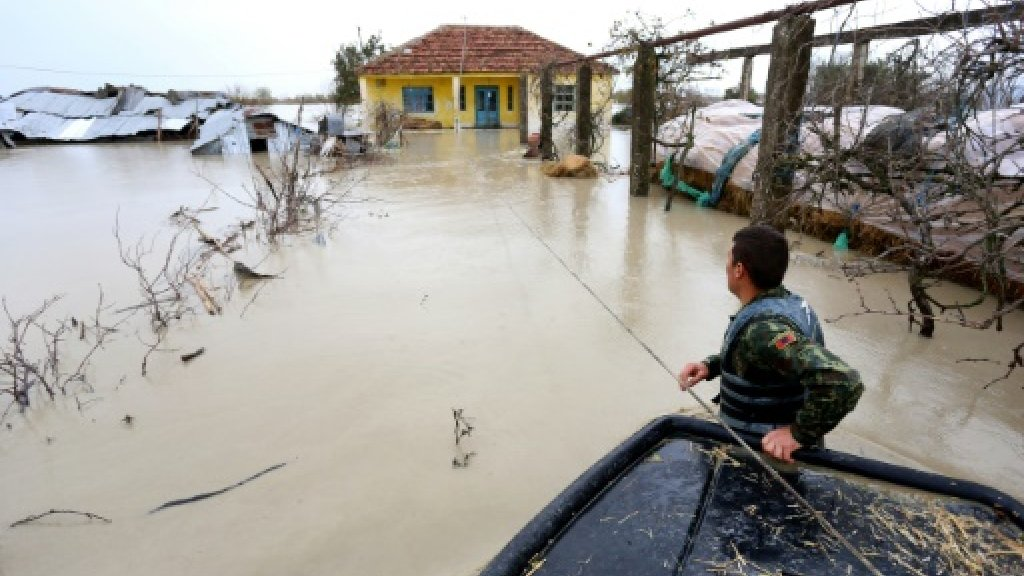 Albania sends in military rescue as heavy rains trigger huge floods