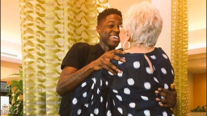 Young man travels cross-country to meet 81-year-old 'Words with Friends' opponent