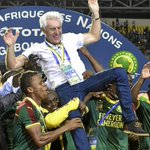 African champions Cameroon fire coach Hugo Broos