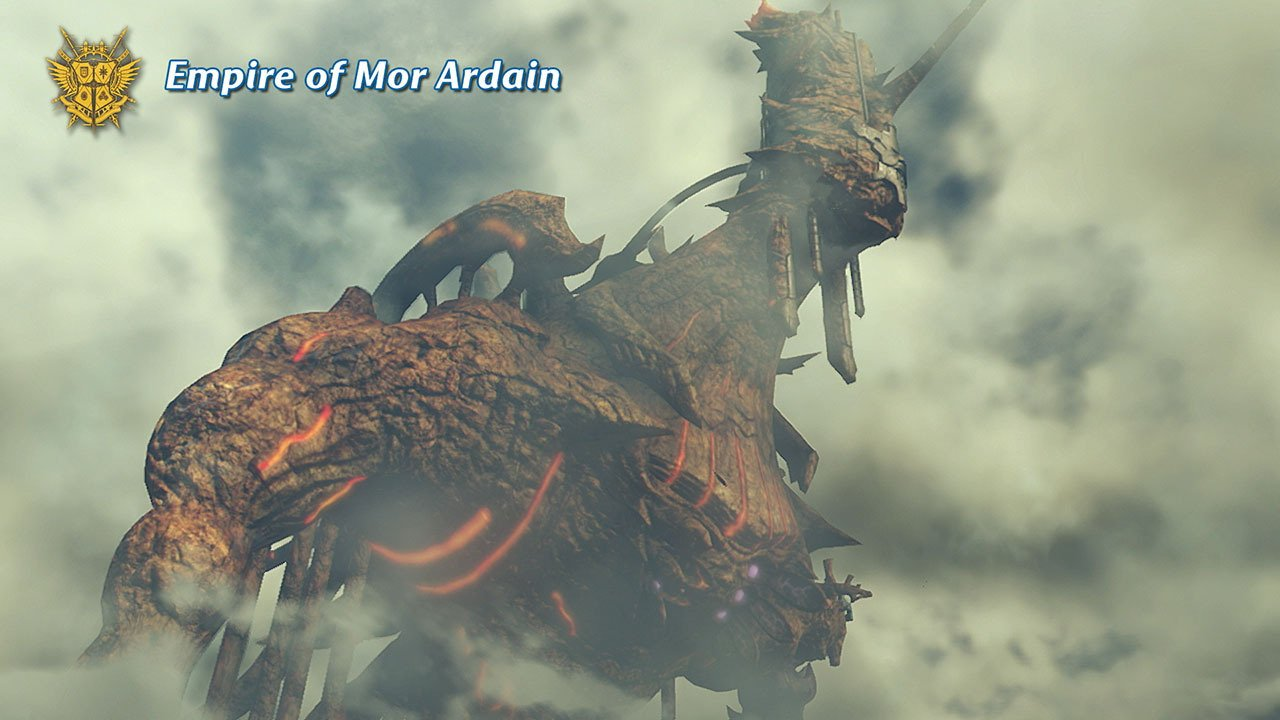 The Empire of Mor Ardain is powered by steam generated from the massive Titan it's located on. #XenobladeChronicles2 https://t.co/jNpFja71m1