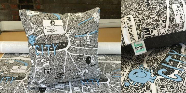 VIDEO: How the City Cushion was made https://t.co/HdWnxT6QTe  #BuyBritishDay https://t.co/yaSWluX7xR