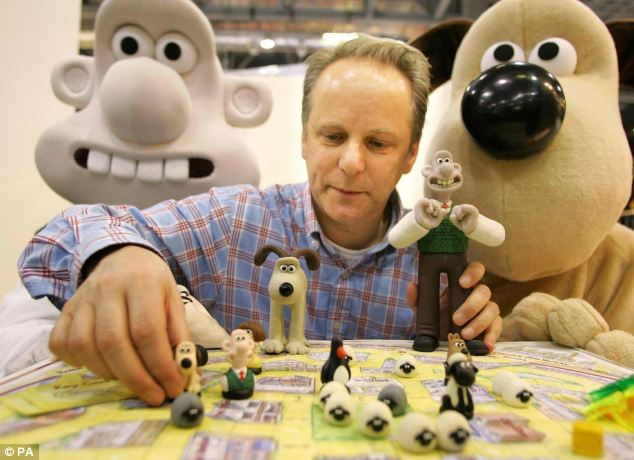 Happy birthday to Wallace and Gromit creator and former student, Nick Park.