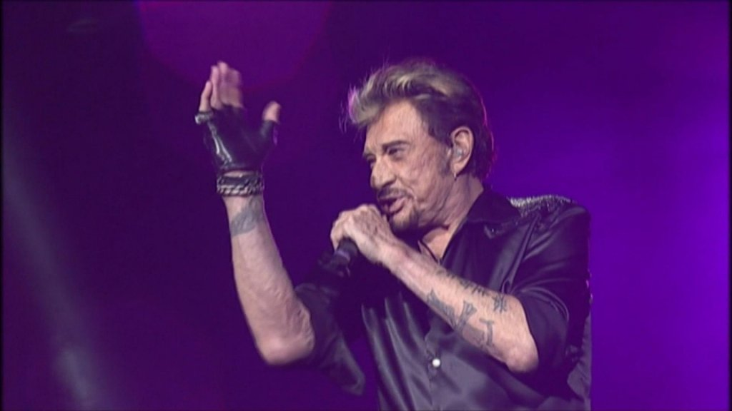 Johnny Hallyday  fans in Ivory Coast pay tribute to the French rock icon