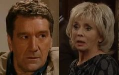 Happy birthday to Clive Russell and Sue Johnston!