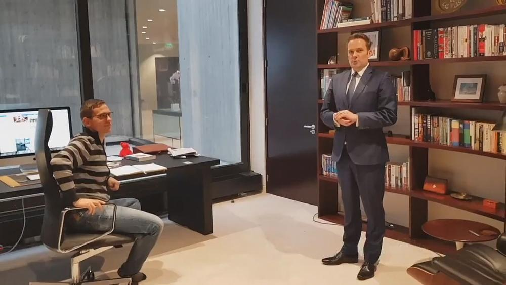 Watch: Australian ambassador to France proposes to partner