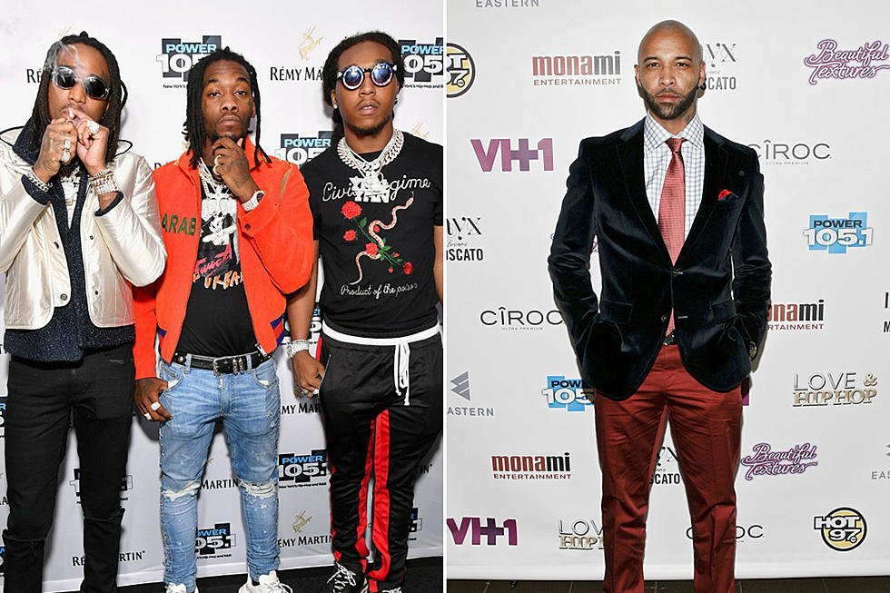 Migos are in search of a Joe B joe budden