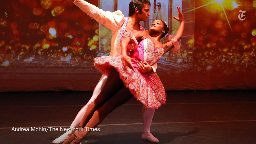 """The Brooklyn Nutcracker"" delivers ballet and hip-hop, a few gaffes and some real pleasure https://t.co/7Mm6iZykEM https://t.co/2NIQzMOU8s"