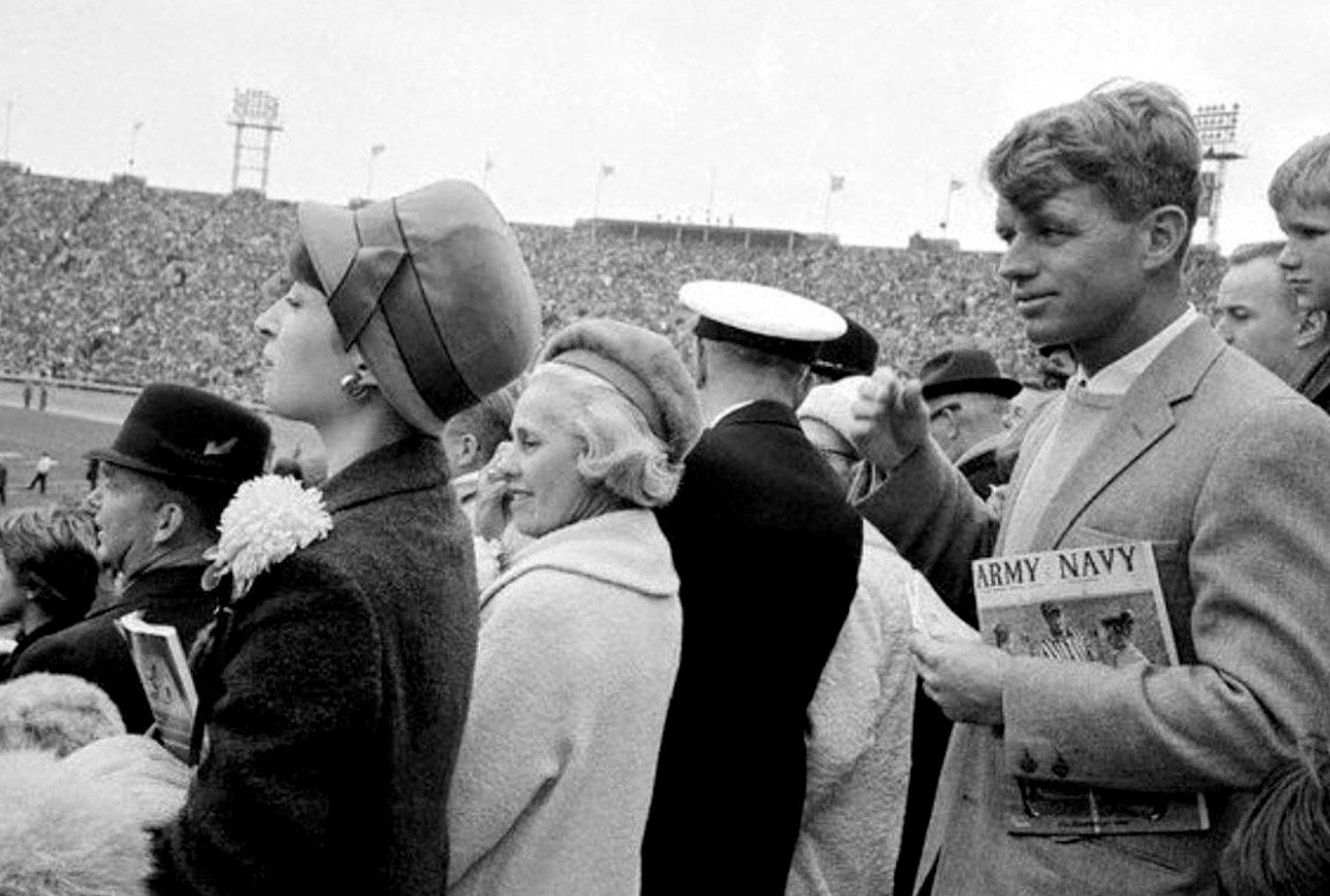 Robert Kennedy as Senator-elect at Army-Navy Game, 1964:   #Getty https://t.co/ZYRHjOJw9t