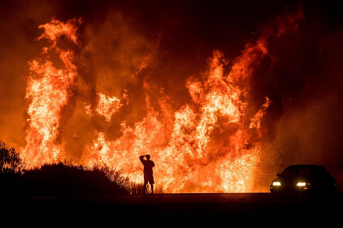 7 images that show why the Southern California wildfires are so dangerous