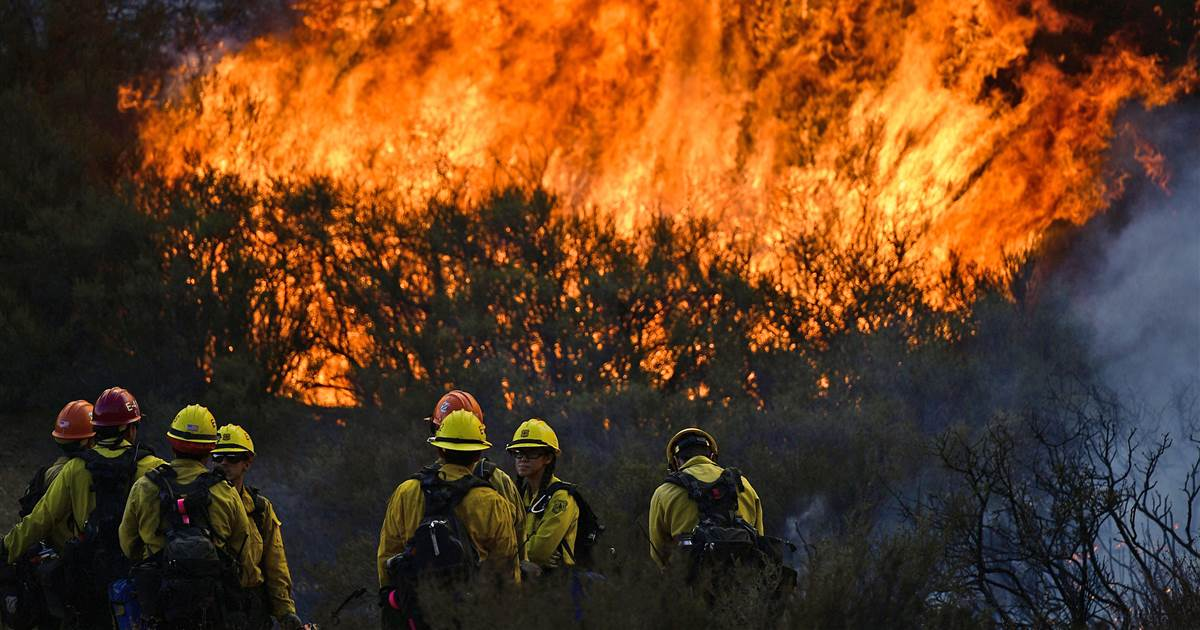 "California faces ""new normal"" of intense wildfires, governor says"