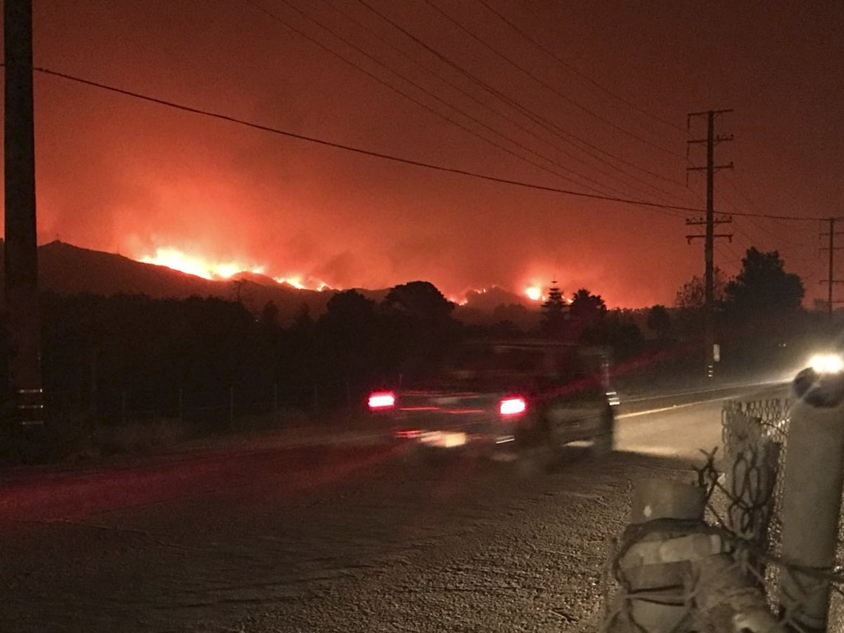 Southern California fire flares up, prompting more evacuations