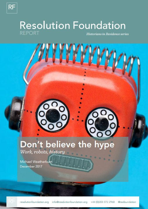test Twitter Media - NEW RF report from our historian in residence - Don't believe the hype: work, robots and history https://t.co/ds5XM8XV7d https://t.co/3UAY9CO0Jh