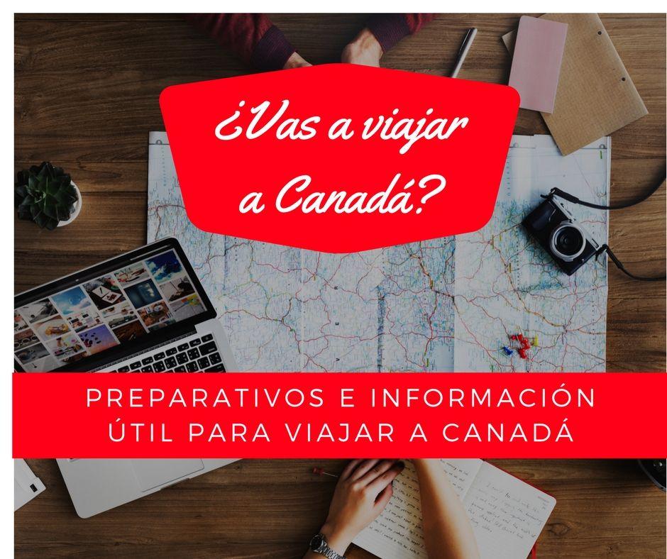 Te contamos los preparativos que realizamos para nuestro viaje a #Canadá https://t.co/Sg9PtABnDB https://t.co/K0YFvQ6utY