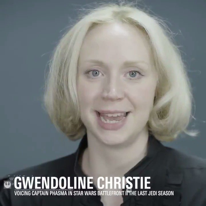 Gwendoline Christie brings the unyielding Captain Phasma to life in Star Wars Battlefront II. https://t.co/rS9xgXRKUS