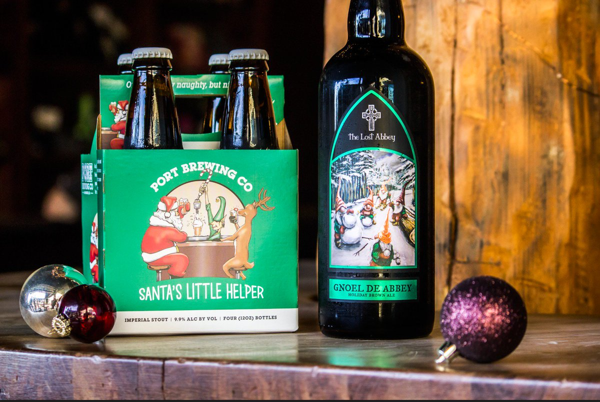 test Twitter Media - 'Tis the season of giving, sparkling lights, and dark ale! From now until Christmas our Gnoel De Abbey and Santa's Little Helper (4 pack & singles) are on sale! Give the gift of a great beer...or buy a few for yourself. Cheers! https://t.co/wtLyCQZdR3