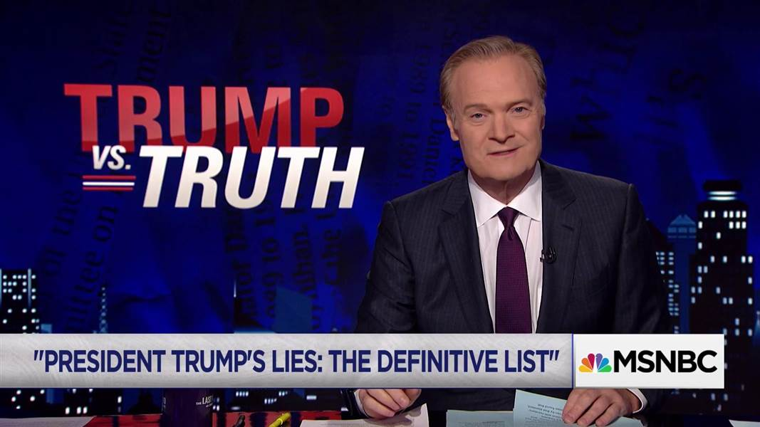 """test Twitter Media - Watch @Lawrence review @nytimes """"President Trump's Lies: The Definitive List"""". https://t.co/32X3MHmevG https://t.co/iDuzV4cFEy"""