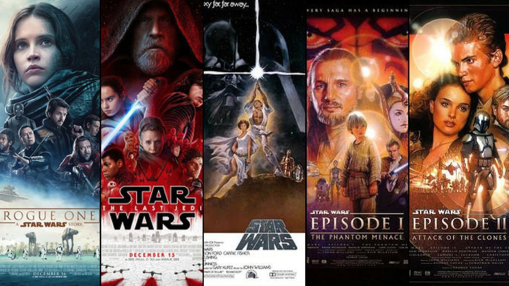 Every Star Wars movie, from first to worst