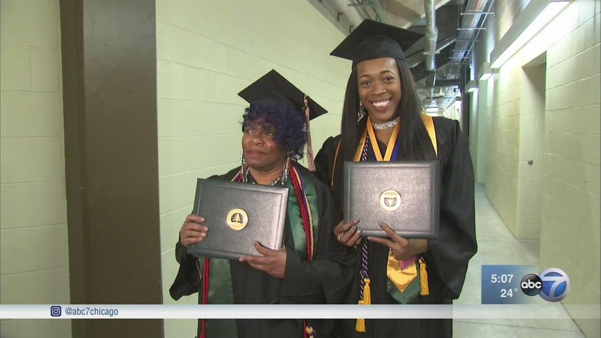 Grandmother, granddaughter graduate from college together -  https://t.co/s1MFLQLMgx https://t.co/eMu5b37HFb