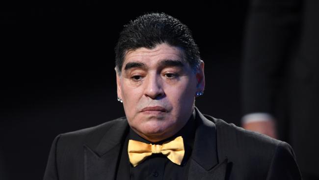 Diego Maradona had some choice words for Cristiano Ronaldo