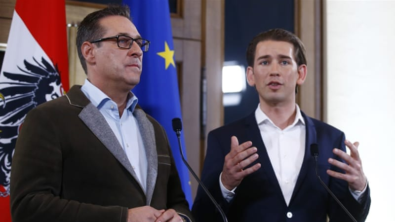 For the first time in 17 years, Austria will have a far-right party in government