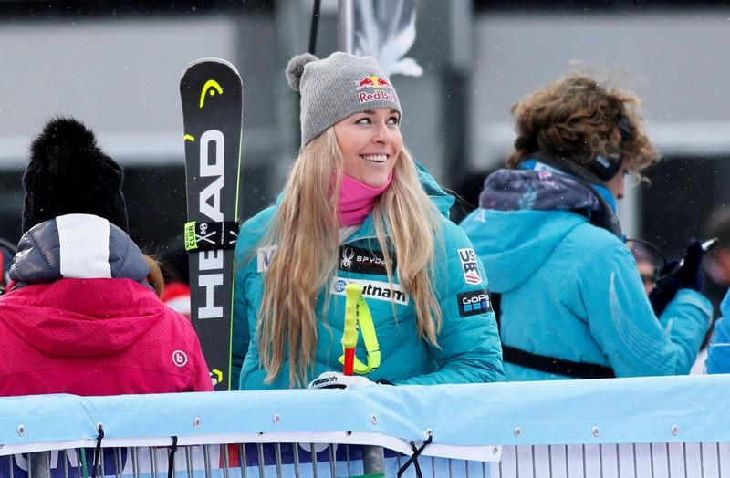Alpine skiing: Vonn enjoys first World Cup win of season