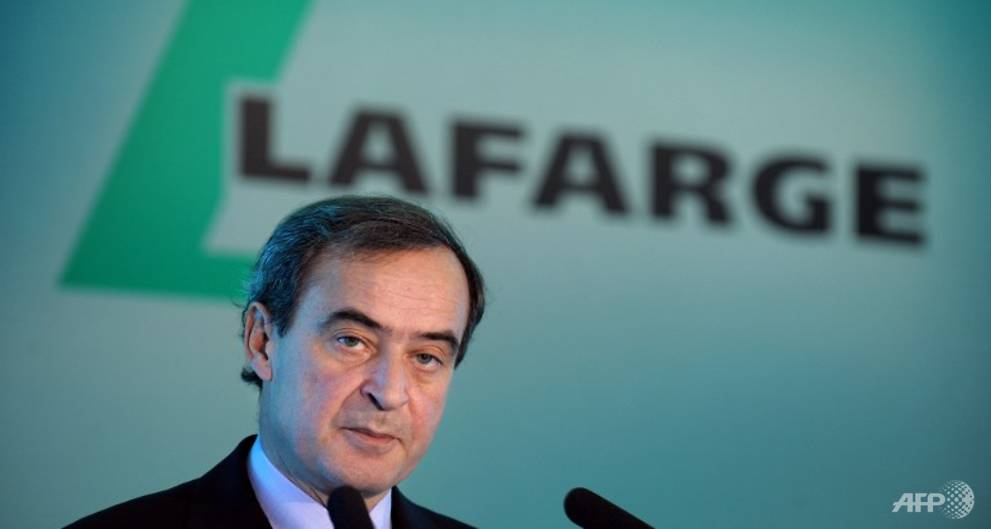 Lafarge ex-CEO denies knowing of Syria payments until late
