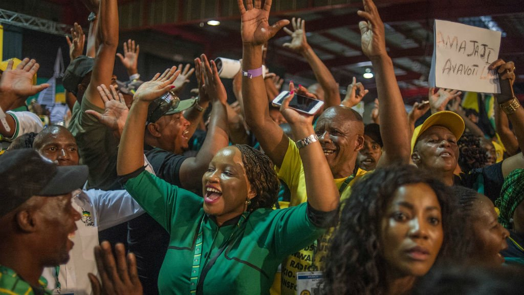 Candidates vie to succeed Zuma as head of South Africa's ruling ANC