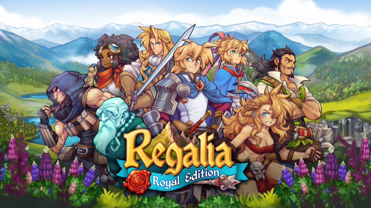Introducing Regalia: Royal Edition, a tactical JRPG with a European twist: https://t.co/PSsxtkydM0 https://t.co/FRS5ZnlAN1