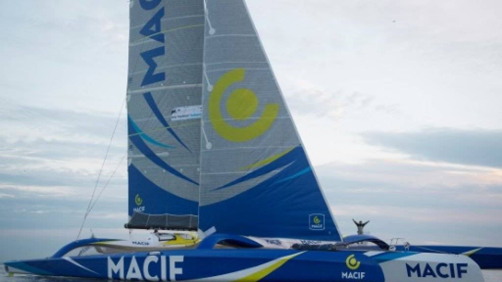 Around the world in 42 days: French sailor smashes solo record