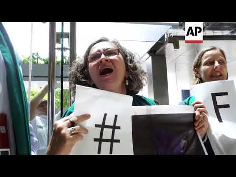 Small farmers group protests WTO conference in Argentina