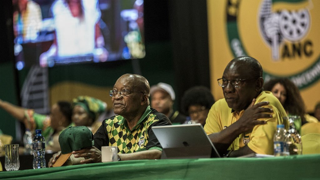 South Africa's ANC party nominates two candidates in leadership vote