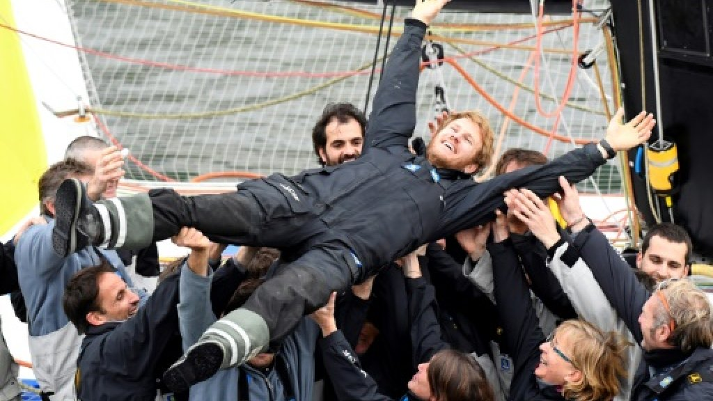 French sailor Gabart pulverises solo around the world record