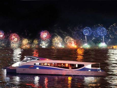 Get a ringside view of the New Year's Eve spectacle