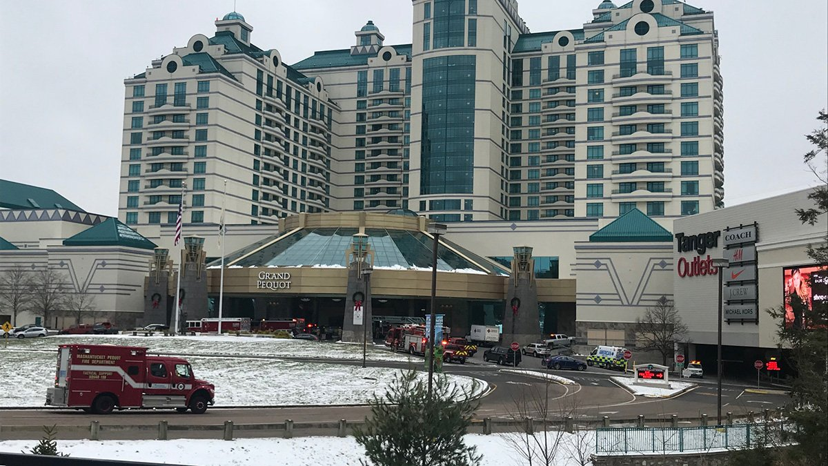 Firefighters Respond to Foxwoods