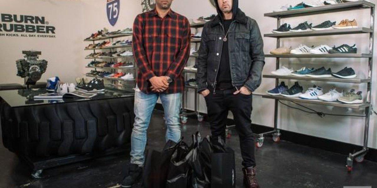 Eminem talks love of Air Jordans on 'Sneaker Shopping'