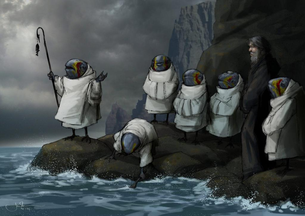Discover the origin of the Caretakers, Ahch-To's ancient keepers from #TheLastJedi. https://t.co/vjFzKz8p9h https://t.co/tYK1PbhlyN