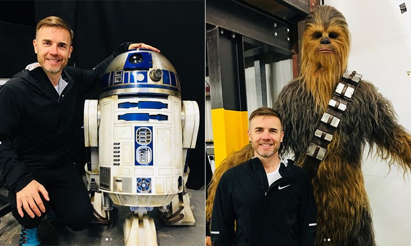 .@GaryBarlow looked like he had the best time on the Star Wars set!