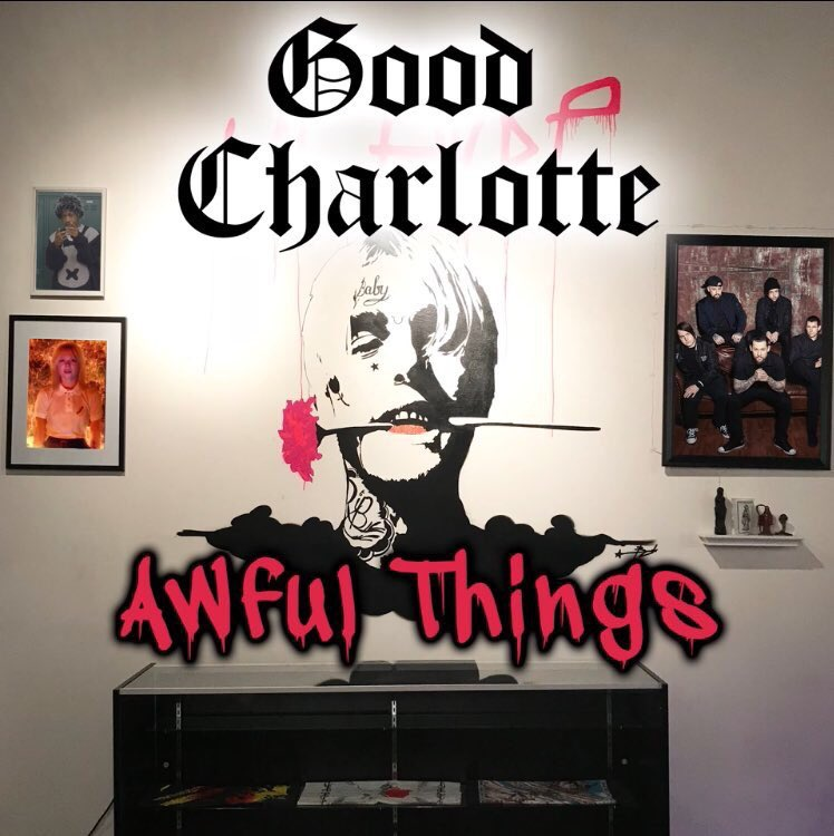 RT @illroots: LIL PEEP - AWFUL THINGS (GOOD CHARLOTTE COVER) https://t.co/Pw6TQpwYng [@GoodCharlotte] https://t.co/y26BzeW6uL