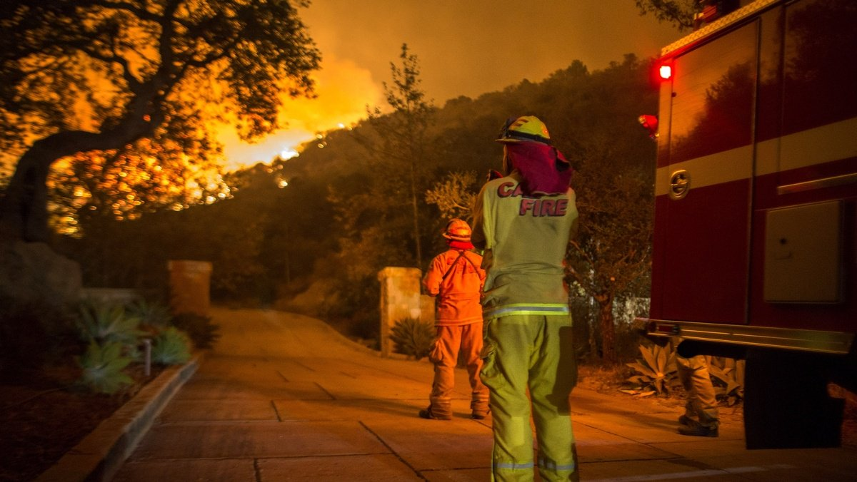 California wildfire is now largest in recorded history