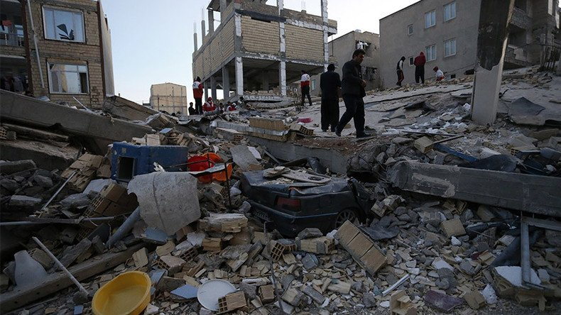 BACKGROUND: November quake in Iran left 600+ people dead