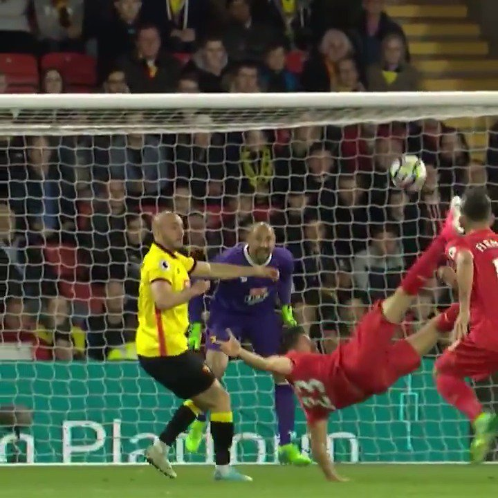 Who could forget that overhead kick  Happy birthday, Emre Can !