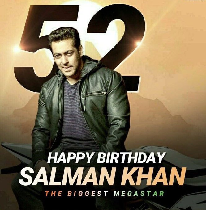 HAPPY BIRTHDAY TO YOU SALMAN. KHAN