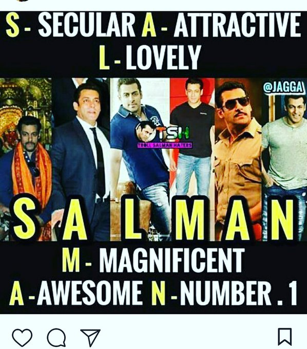 Happy birthday salman Khan. Dabang of bollywood and tiger of bollywood I m big fan of your..