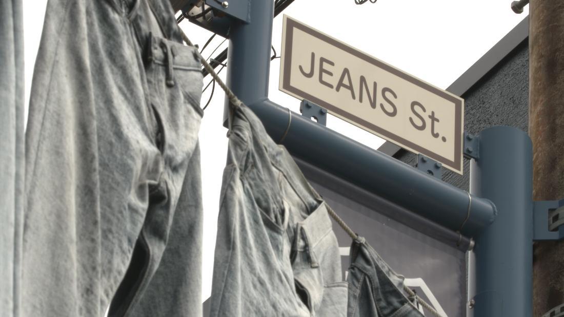 This street in Okayama, Japan, is devoted to denim via @CNNStyle