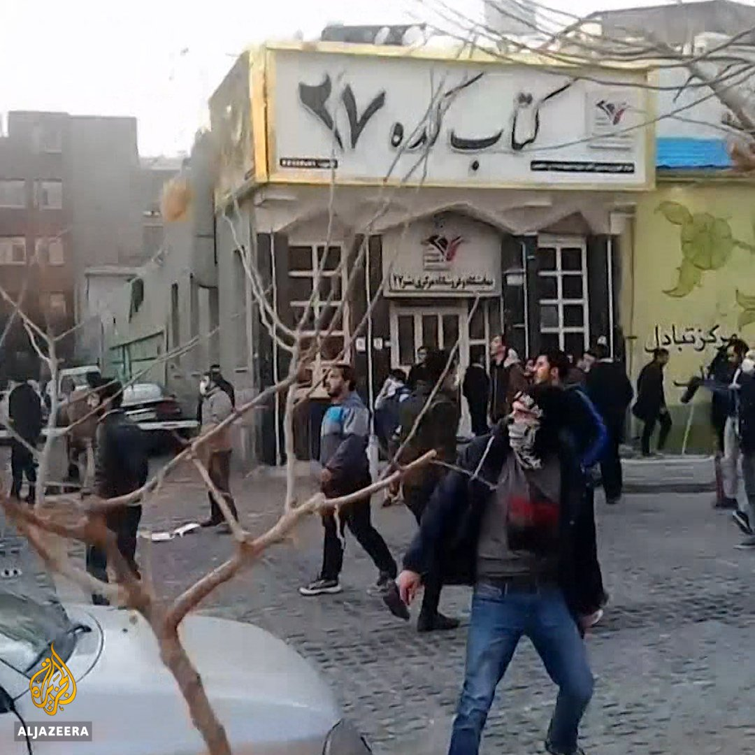 """""""Not Gaza, not Lebanon, my life for Iran"""".   Here's why Iranians are protesting:"""