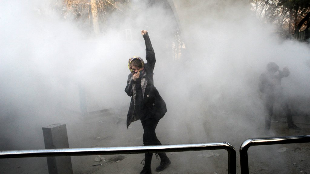 New anti-regime protests break out in Iran following deadly clashes